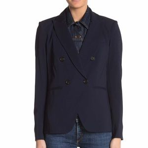 Veronica Beard Jackets & Coats - NWT Veronica Beard Slate Jean Dickey in Dark Blue